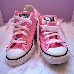 Pink Converse All Stars - Youth Size 3